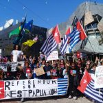 West Papuans rally calling Australia stands against human rights violations in West Papua
