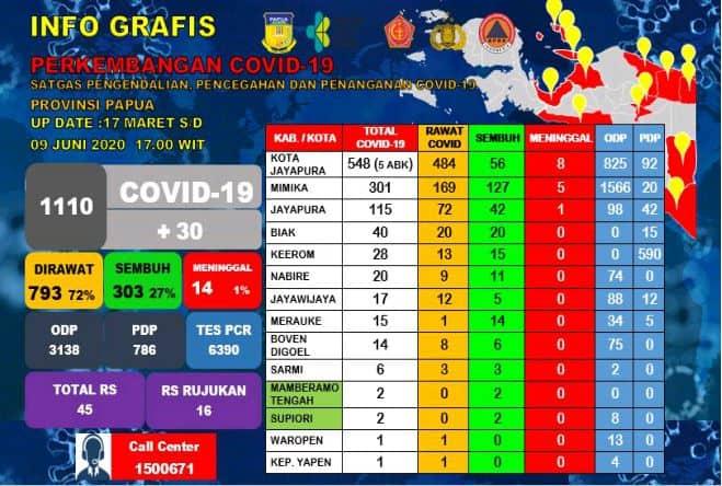 infografis papua