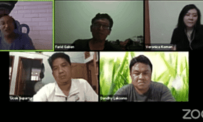 Online discussion on Papua issue