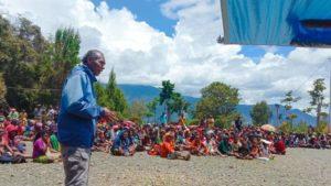 intan jaya displaced people