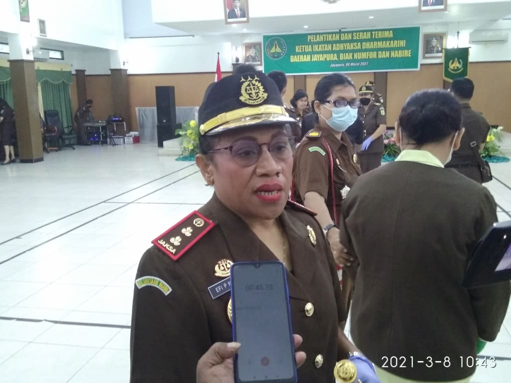 first native woman as head prosecutor in West Papua, West Papua