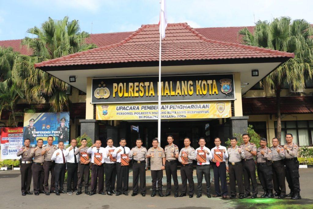 polres malang, papuan students
