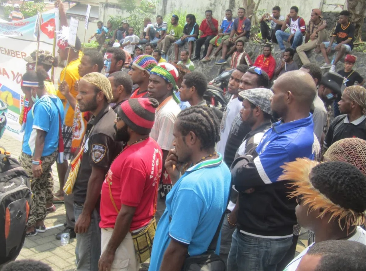 Protest on West Papua
