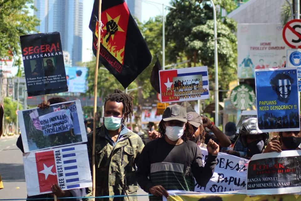 biak massacre protest