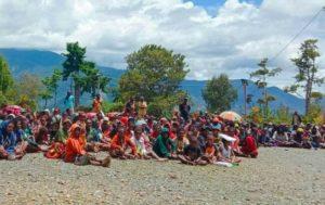 displaced people of puncak