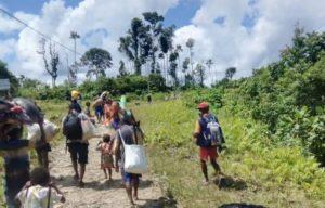 displaced people in Maybrat
